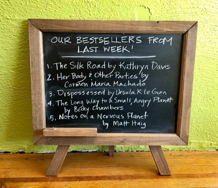 Last week's best sellers