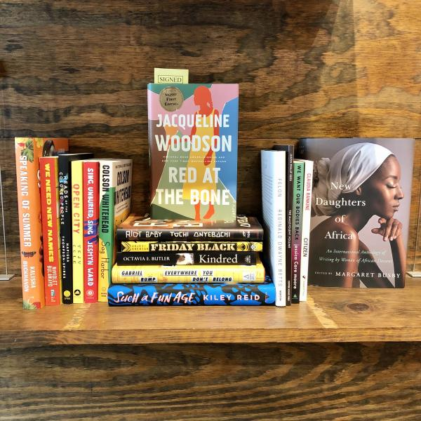 Black Lives Fiction & Poetry books