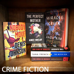 Mystery, Crime Fiction, Noir Books